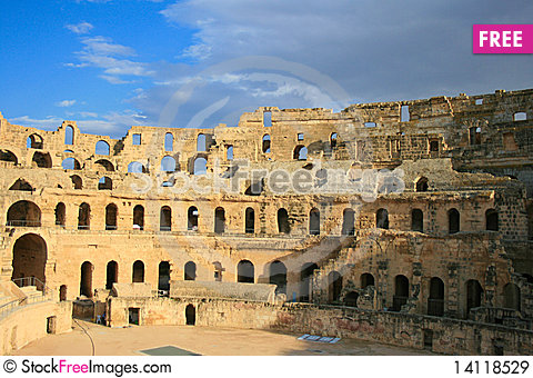 Free The Colosseum Royalty Free Stock Images - 14118529