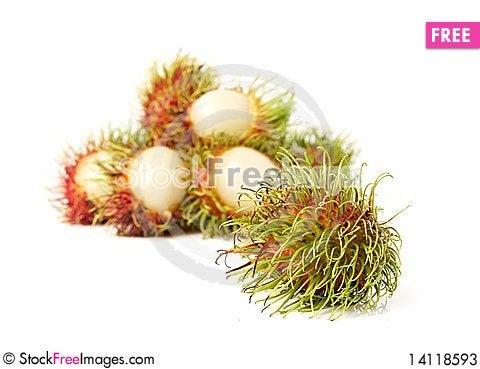 Free Exotic Thai Fruit Rambutan Or Ngo Stock Photos - 14118593