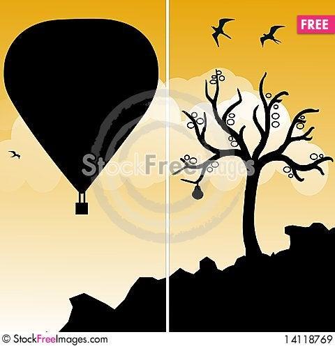 Free Hot Air Balloon Royalty Free Stock Images - 14118769