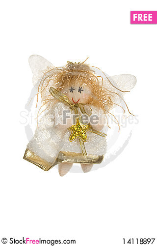 Free Little Angel. Toy Royalty Free Stock Photography - 14118897