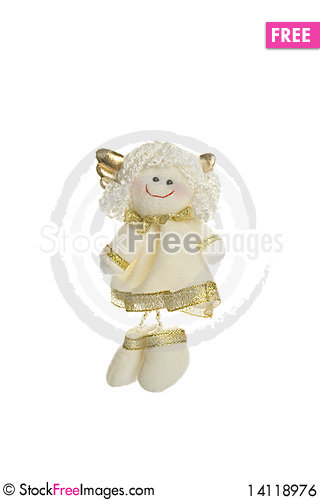 Free Little Angel. Toy Royalty Free Stock Image - 14118976