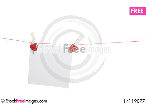 Free Blank Valentine S Day Royalty Free Stock Photography - 14119077