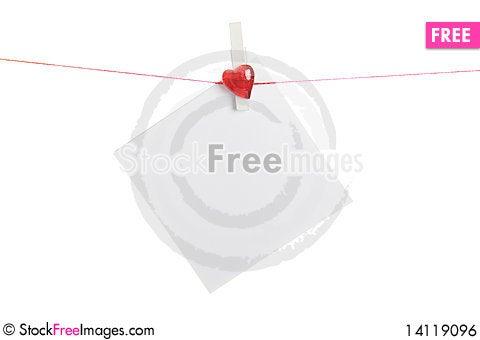 Free Blank Love Royalty Free Stock Image - 14119096