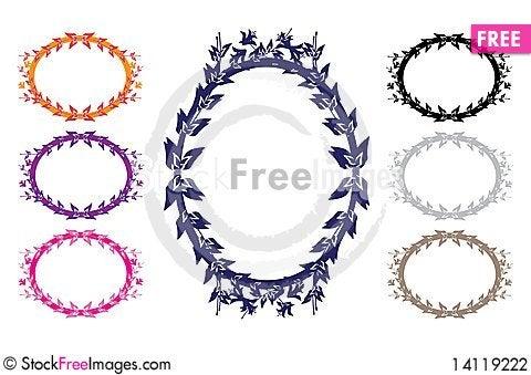 Free Frames Set Stock Photography - 14119222