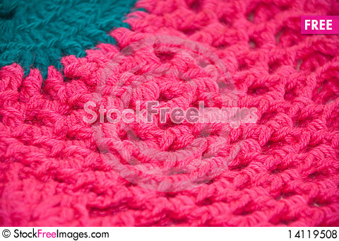 Free Knitted Cloth Royalty Free Stock Photos - 14119508