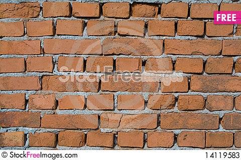 Free Brick Texture Stock Photos - 14119583