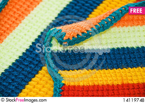 Free Knitted Cloth Royalty Free Stock Photos - 14119748