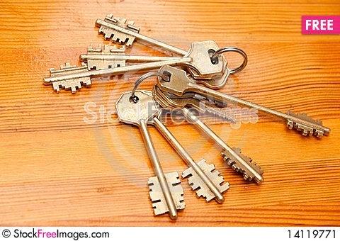 Free Keys Stock Image - 14119771