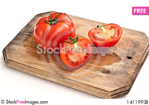 Free Fresh Tomatoes Royalty Free Stock Photos - 14119938
