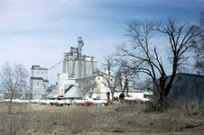 Free Grain Elevator Stock Images - 14110124