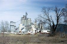 Free Grain Elevator Stock Images - 14110124