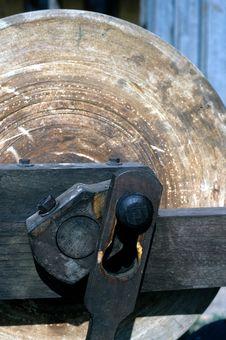 Free Antique Sharpening Stone Stock Photo - 14110300
