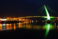 Free Night Shoot Of Bridge Stock Photos - 14110563