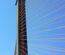 Free Cable-stayed Bridge Stock Image - 14111031