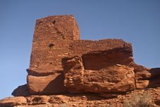 Free Wukoki Pueblo Ruins Royalty Free Stock Photos - 14112668