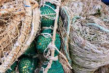 Free Fishing Equipment, Fish Net Royalty Free Stock Photos - 14113528