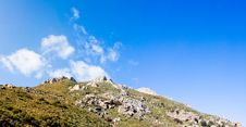 Landscapes At Preveli Stock Photo