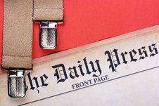 Free Daily Press Stock Photos - 14115573