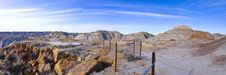 The Badlands Royalty Free Stock Image