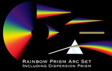 Free Rainbow Prism Arc Set Stock Photo - 14115790