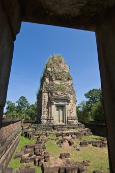 Free Angkor Temples Royalty Free Stock Images - 14116289