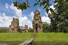 Free Angkor Temples Stock Photography - 14116302