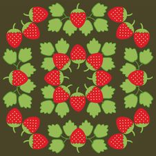Free Ornament With Strawberry Stock Image - 14116361