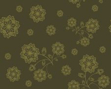 Free Seamless Flower Ornament Royalty Free Stock Image - 14116376