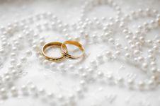 Free Wedding Rings Royalty Free Stock Photos - 14116568