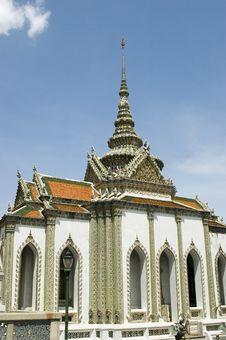Emerald Buddha Temple In Bangkok Royalty Free Stock Photos