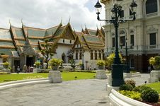 Grand Palace - Bangkok, Thailand Royalty Free Stock Image