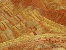 Red Soil Canyon Royalty Free Stock Photography