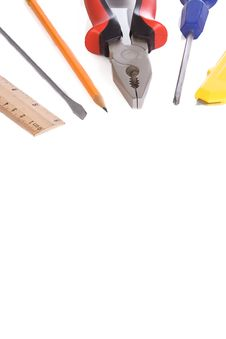 Free Isolated Tools Royalty Free Stock Photo - 14117405