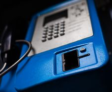 Free Blue Phone Stock Photography - 14117502