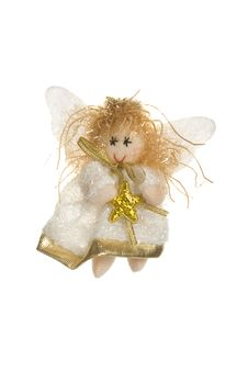 Little Angel. Toy Royalty Free Stock Photography