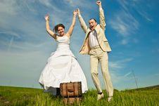 Free Wedding Couple Royalty Free Stock Photo - 14119475