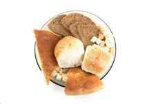 Free Set Of Different Types Of Bread Royalty Free Stock Photography - 14119587