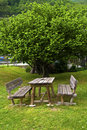 Free Park Bench Royalty Free Stock Photo - 14120955
