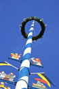 Free Maypole In Munich Royalty Free Stock Photo - 14124115