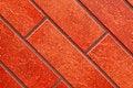 Free Dark Red Brick Tile Wall. Stock Photos - 14126663