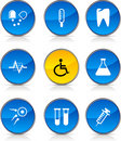 Free Medical  Icons. Stock Photo - 14127380