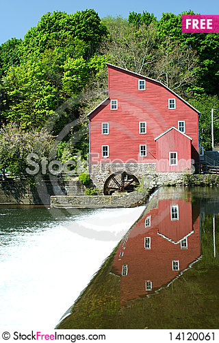 Free Grist Mill Stock Image - 14120061
