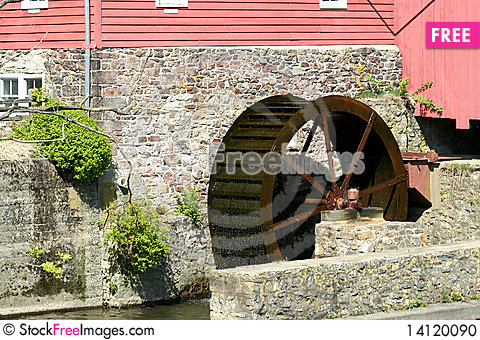 Free Grist Mill Stock Photo - 14120090
