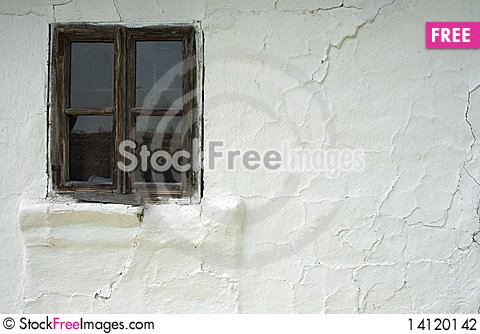 Free Old Window And Wall Stock Photography - 14120142