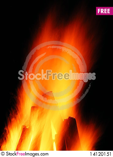 Free Camp Fire Stock Image - 14120151
