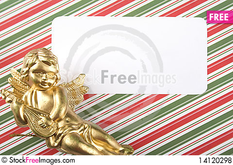 Free Invitation To The Day An Angel Royalty Free Stock Photos - 14120298