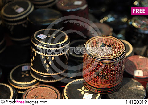 Free Gild Box With Lection Royalty Free Stock Images - 14120319