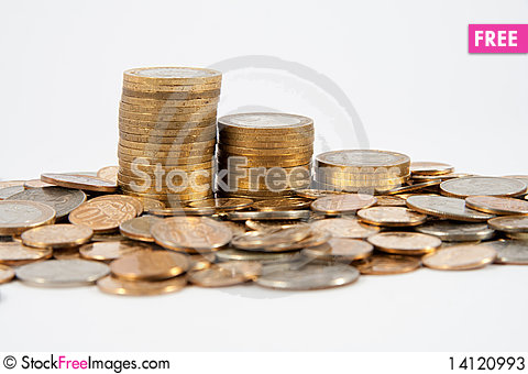 Free Coins Of Different Countries Stock Photos - 14120993