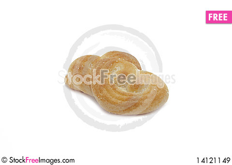 Free Heart Biscuits Royalty Free Stock Images - 14121149