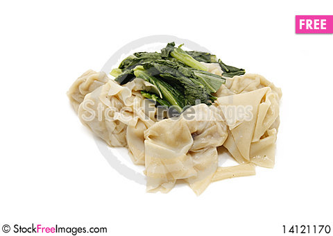Free Wonton Meat Stock Photo - 14121170